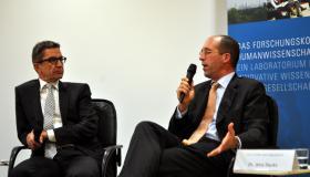 Rainer Hank und Jens Hacke